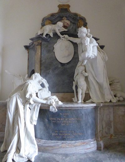 Montagu Monuments, St Edmunds Church, Warkton, Northants